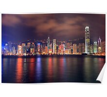 The Amazing Hong Kong Skyline. Poster