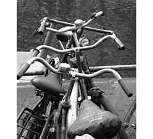 Amsterdam Bicycles #1 Photographic Print