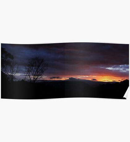 Blackheath at Dusk Poster