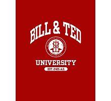 Bill & Ted University Photographic Print