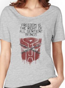 'Freedom' Women's Relaxed Fit T-Shirt