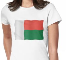 Madagascar flag Womens Fitted T-Shirt