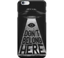 Because I'm a Creep iPhone Case/Skin
