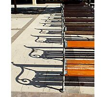 Musical Chairs Photographic Print