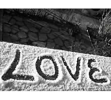 Love floats Photographic Print