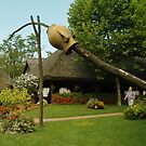 Garden in the Hungarian Puszta by karina5
