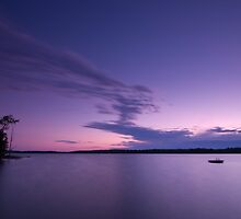 Sunset at the Cottage by Rob Smith