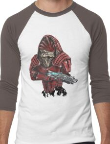 Wrex Men's Baseball ¾ T-Shirt