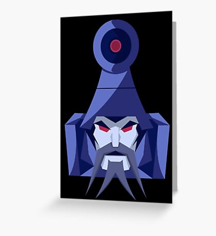 "Transformers - ""Scourge"" Greeting Card"