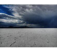 Utah - Bonneville Salt Flats 002 Photographic Print
