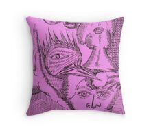 energetic enigma Throw Pillow