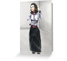 Elizabeth Noir Greeting Card