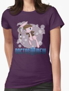 Doctor Mew Womens Fitted T-Shirt