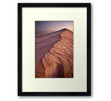 Barren Beauty Framed Print