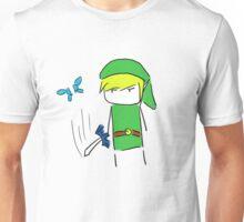 Hey! Lis- *slice* Unisex T-Shirt