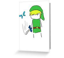 Hey! Lis- *slice* Greeting Card