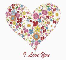 Cute Flowers Big Heart by pharostores