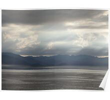 Sierra Madre with a dramatic Sky - Cielo dramatico Poster