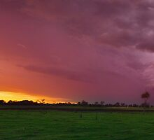Storm Panorama by Kate Wall
