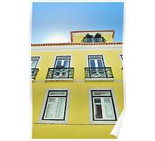 Building in Lisbon Poster
