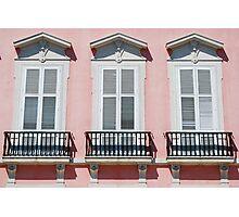 Lisbon windows Photographic Print
