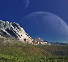 Pandoran Spring - Northern Landmass  by AlienVisitor