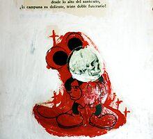 DEAD BONES OF THE INFAMOUS MOUSE by Alvaro Sánchez