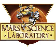Mars Science Laboratory (MSL) Program Logo Photographic Print