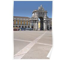 Commerce Square in Lisbon Poster