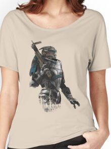 A busy Turian Women's Relaxed Fit T-Shirt