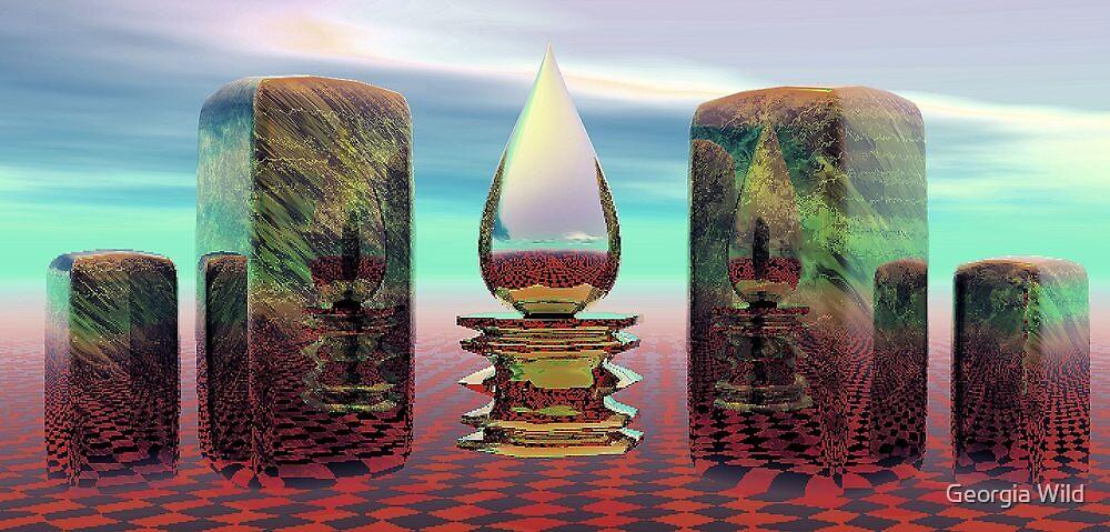 Essence of Divine Reality  by Georgia Wild