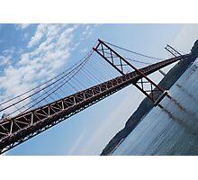 25th April bridge in Lisbon Photographic Print