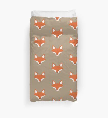 Fox pattern Duvet Cover