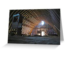 Dad's Barn Greeting Card