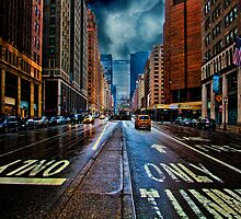 It's Raining On Park Avenue by Chris Lord