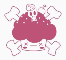 Evil Cupcake of DOOM! Tee shirts Kids Clothes