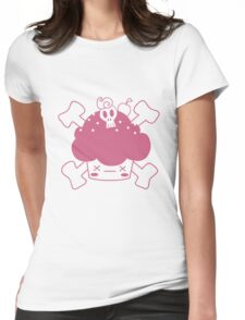 Evil Cupcake of DOOM! Tee shirts Womens Fitted T-Shirt