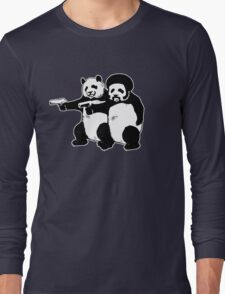 Funny! Pulp Pandas Long Sleeve T-Shirt