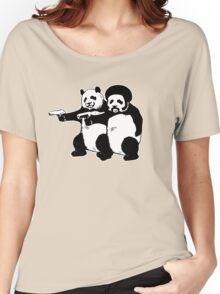 Funny! Pulp Pandas Women's Relaxed Fit T-Shirt