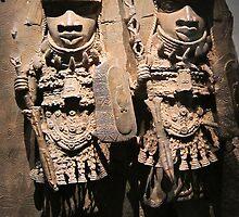 Benin Art 2, mshed, Bristol, UK by buttonpresser