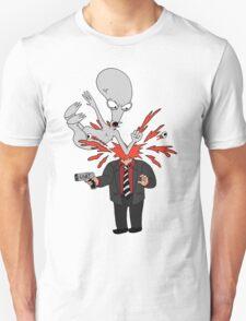 AMERICAN DAD - ROGER SLAM Unisex T-Shirt