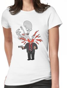AMERICAN DAD - ROGER SLAM Womens Fitted T-Shirt