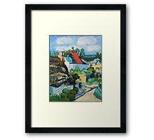 Van Gogh, A Study of a Straw Hut Framed Print