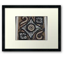 Spirals - Espirals Framed Print