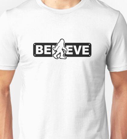 I believe in Sasquatch Unisex T-Shirt
