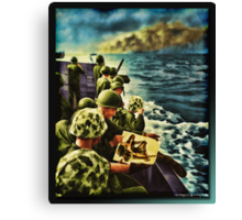 What We Fight For Canvas Print