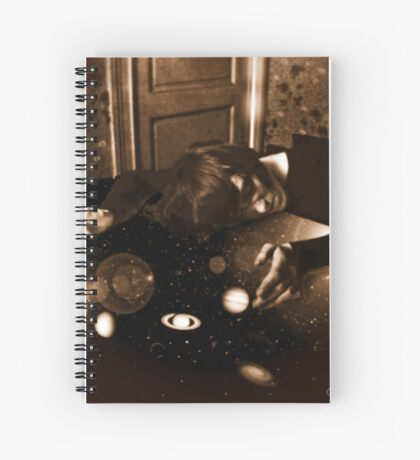 The Sleeping Juggler of Planets Spiral Notebook