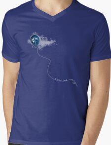 Take Me Away (TARDIS Only) Mens V-Neck T-Shirt