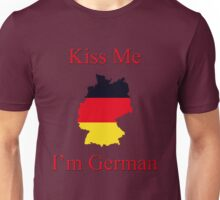 Kiss Me I'm German Unisex T-Shirt