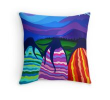 Ladies of the Lost Land Throw Pillow